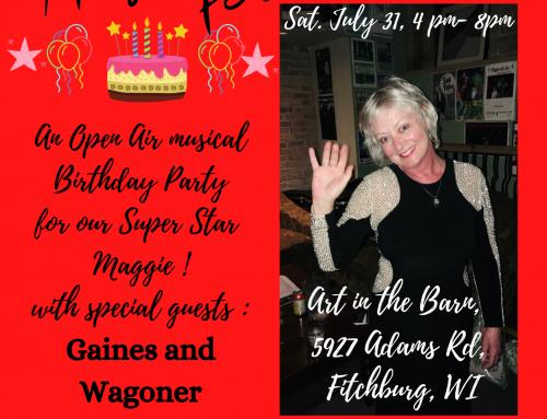 Maggie Fest July 31, 2021 – 4pm